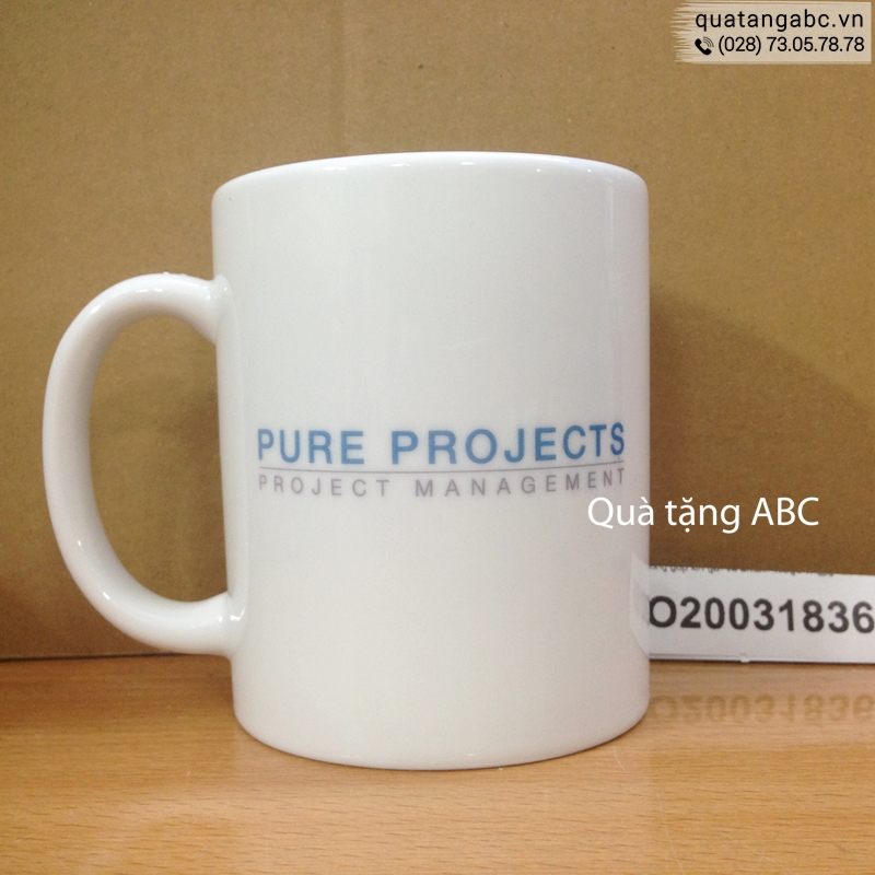 INLOGO in ly sứ cho Công Ty Tnhh Pure Projects Việt Nam