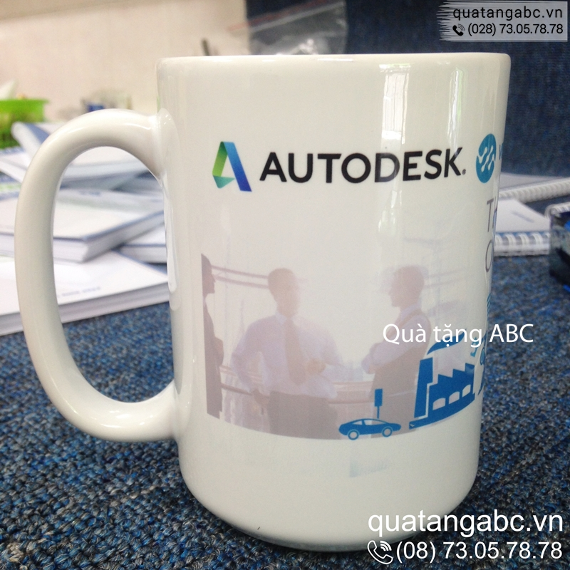 INLOGO in ly sứ cho Công ty Autodesk Việt Nam